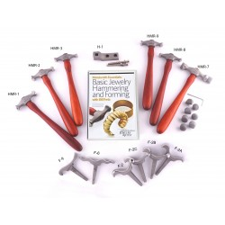 SET DVD #1 BASIC HAMMERING AND FORMING JEWELRY CUFF BRACELETS AND FRETZ TOOLS