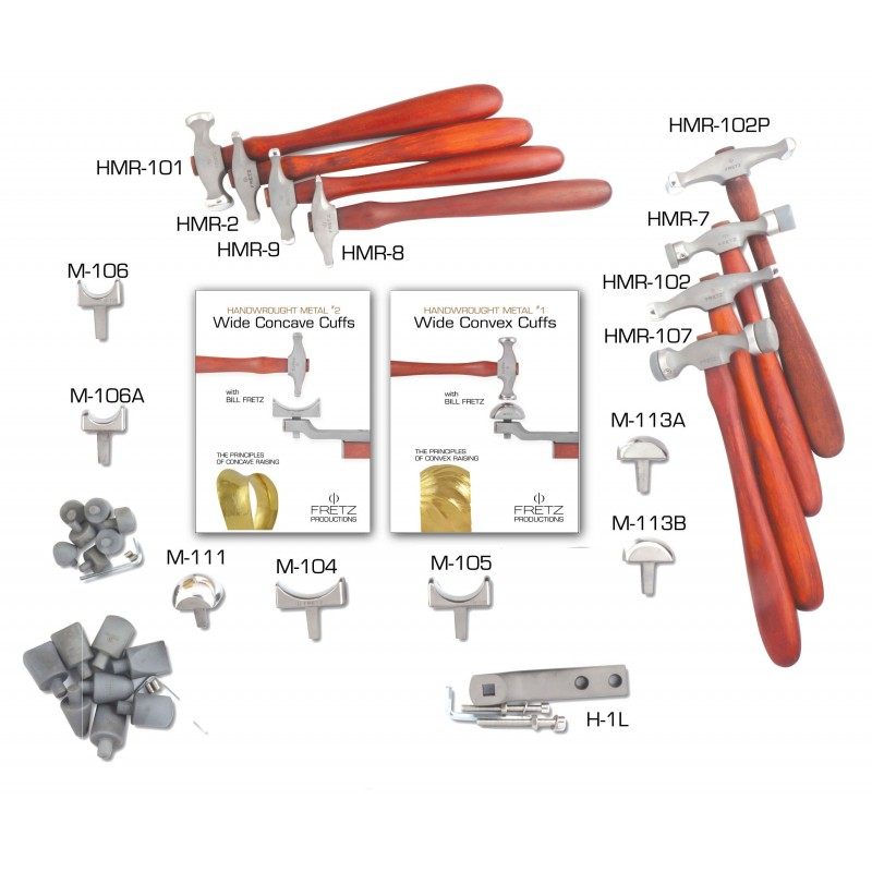 DVDS3   WIDE CONCAVE AND CONVEX CUFF MASTER DVDS TOOL SET