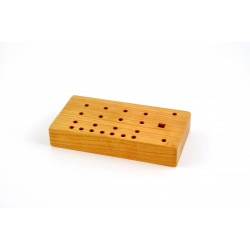 """S2 Wooden Micro Stake Holder 6""""x3""""x1"""" for H-2"""