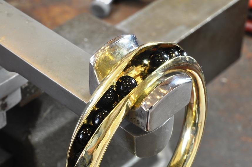 Freeform Concave Bracelet