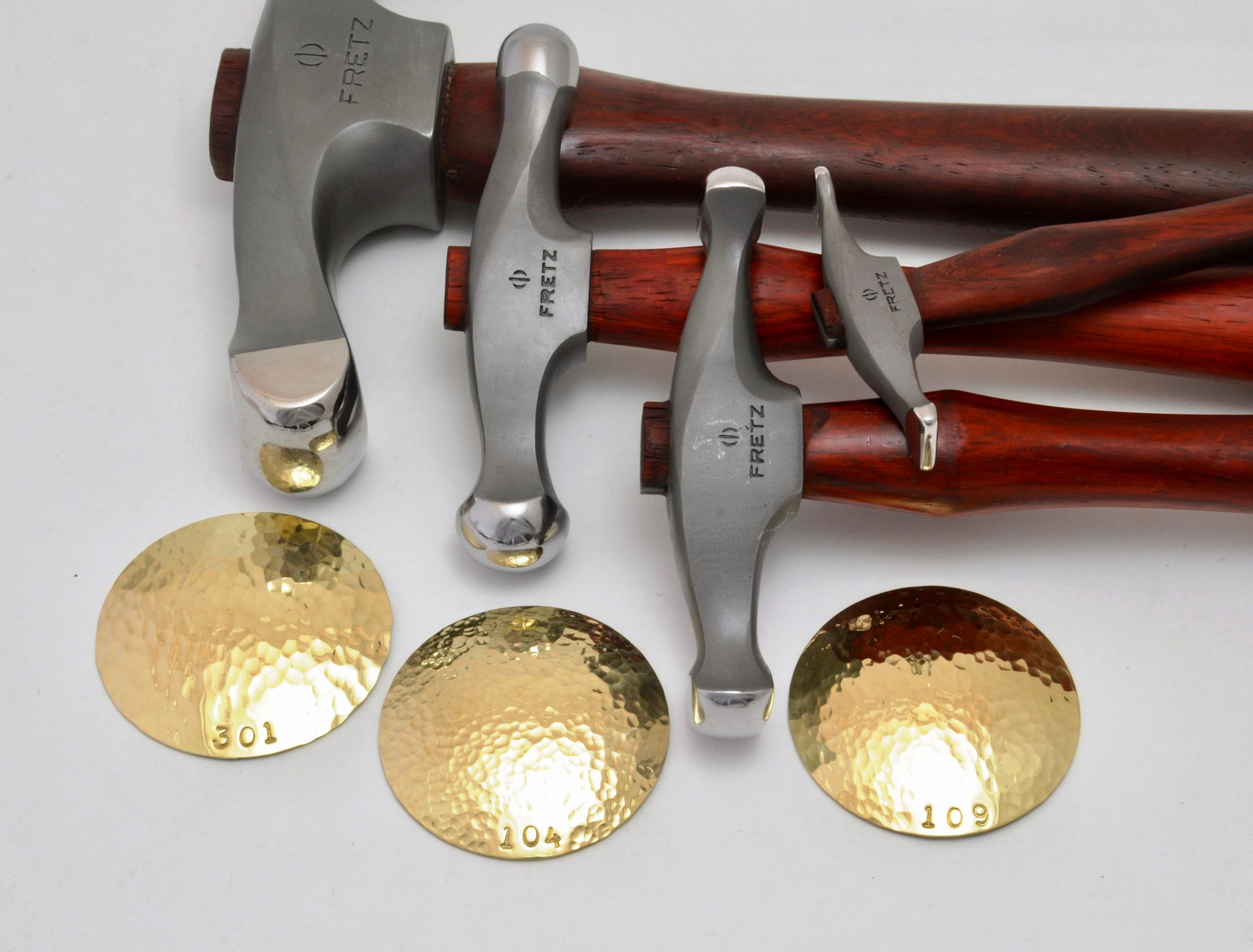 Quality Embossing Jewelers Forming Hammer Silversmith Chasing Repouse Metal Work